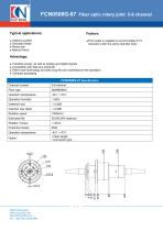 CENO Fiber optic rotary joint FCN0508G-67 - 1