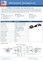 CENO FORJ intergrate power slip ring ECN000-01P-11P2-34S-02F - 1