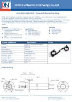 CENO Gigabit ethernet slip ring ACN-02P3-08S-02EG - 1