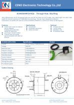 CENO Gigabit Ethernet slip ring ECN038-04P2-01EG - 1