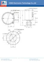 CENO High Current Slip Ring BHCN-C-06P-36S - 2