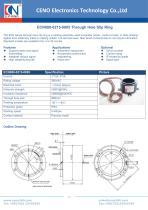 CENO Hollow shaft slip ring ECN080-0215-0805 - 1