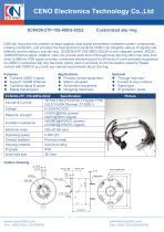 CENO Hybrid signal slip ring USB Ethernet ECN038-27P-15S-08EG-02U2 - 1