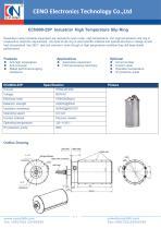 CENO Industrial High Temperature Slip Ring ECN000-25P - 1
