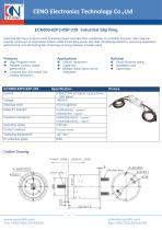 CENO Industrial Slip Ring ECN000-02P2-05P-33S - 1