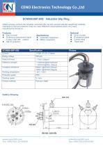 CENO Industrial Slip Ring ECN000-08P-05S - 1