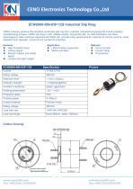 CENO Industrial Slip Ring ECNS000-086-03P-12S - 1