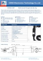 CENO Multi circuit through hole slip ring ECN023-125P - 1