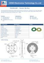 CENO PCB pancake slip ring PSCN052-08P1 - 1