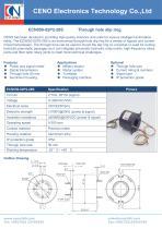 CENO Power slip ring integrate singal channel ECN050-02P2-28S - 1