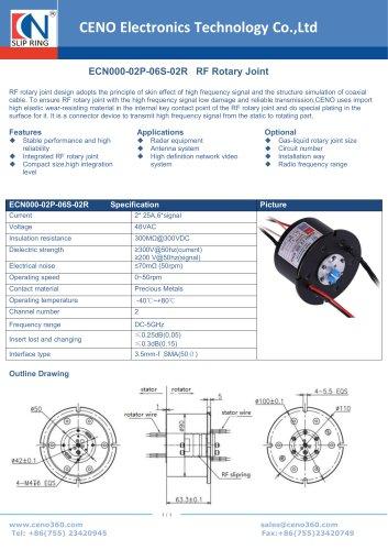 CENO RF Rotary Joint ECN000-02P-06S-02R