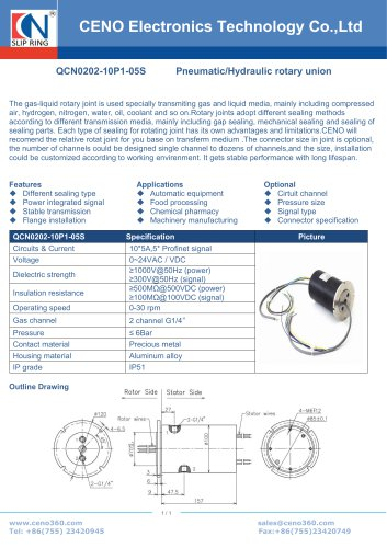 CENO Robot swivel QCN0202-10P1-05S