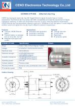 CENO Rotary joint with power and signal channel ECN000-21P-06S - 1