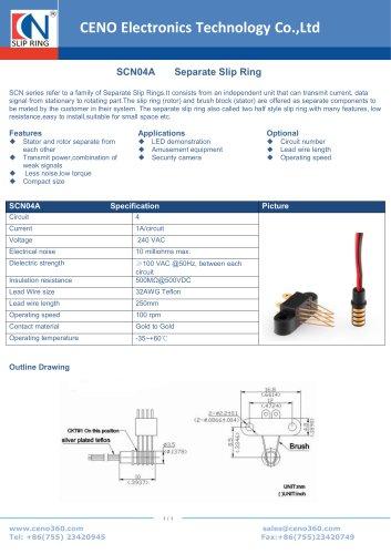 CENO Separate Slip Ring SCN04A