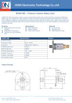 CENO Single Channel Coaxial Rotary Joint RCN0118B - 1