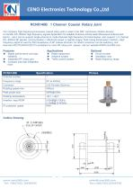 CENO Single Channel Coaxial Rotary Joint RCN0140B - 1