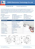 CENO Slip ring with 80mm through hole 56 circuits ECN080-36P-20S - 1