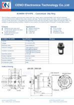 CENO Slip ring for sewage treatment equipment ECN000-11P-01PE - 1