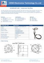 CENO Solid shaft slip ring ECN000-06P1-26S - 1