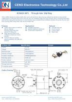 CENO Through bore slip ring with 16 lines ECN025-16P3 - 1