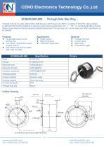 CENO Through bore slip ring ECN080-04P-08S - 1