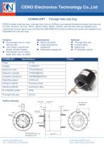 CENO Through hole slip ring with 60mm hole ECN060-24P1 - 1