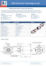 CENO Through hole slip ring ECN012-0410-1202 - 1