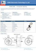 CENO Through hole slip ring ECN012-04P2 - 1