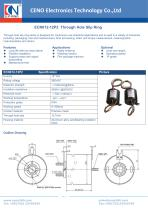 CENO Through Hole Slip Ring ECN012-12P2 - 1