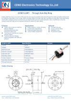 CENO Through hole slip ring ECN012-24P1 - 1
