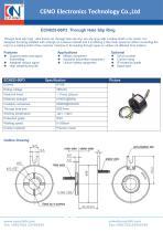 CENO  Through Hole Slip Ring ECN025-06P3 - 1