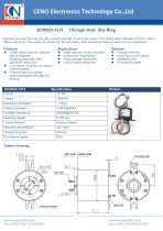 CENO Through Hole  Slip Ring ECN025-1215 - 1