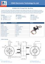 CENO Through hole slip ring ECN025-12P3 - 1
