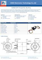 CENO Through hole slip ring ECN025-15P3 - 1
