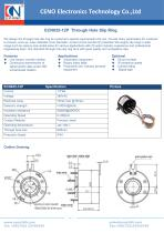CENO Through Hole Slip Ring ECN035-12P - 1