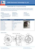 CENO Through Hole Slip Ring ECN080-02400-1202 - 1