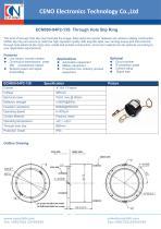 CENO Through Hole Slip Ring ECN080-04P2-13S - 1