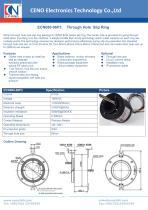 CENO Through Hole Slip Ring ECN080-06P3 - 1