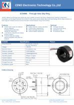 CENO Through Hole Slip Ring ECN080 - 1
