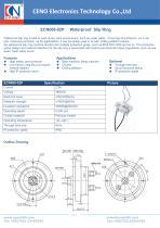 CENO Waterproof Slip Ring ECN008-02P - 1