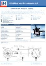 CENO Waterproof slip ring IP66 ECN000-08P-08S - 1