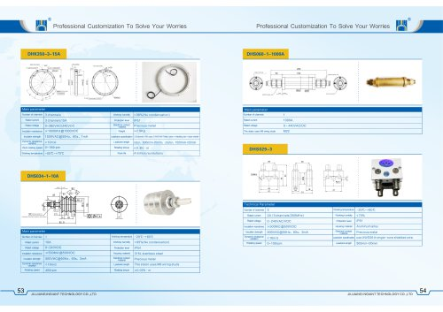 Special slip ring introduction