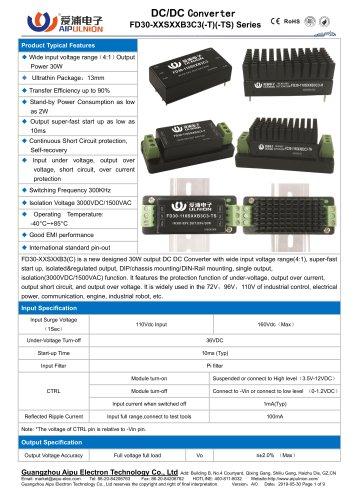 FD30-110SXXB3C3 Series