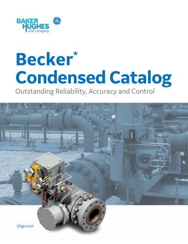 Becker* Condensed Catalog