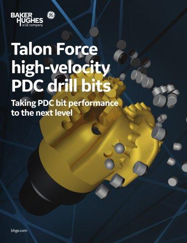 Talon™ Force high-velocity PDC drill bits