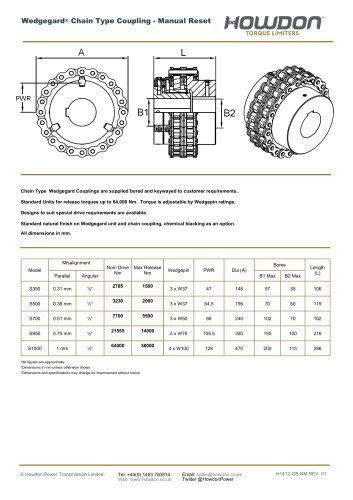 Chain Type Coupling
