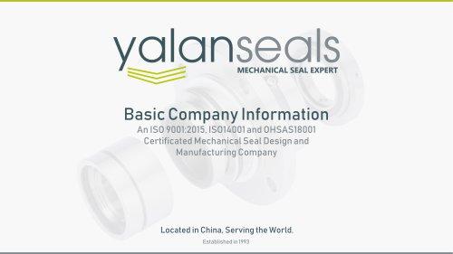 YALAN Mechanical Seals