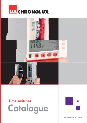 Time switches Catalogue