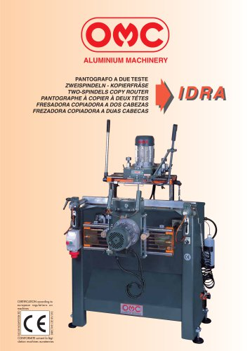 TWO-SPINDELS COPY ROUTER - IDRA