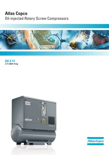 Atlas Copco Oil-injected Rotary Screw Compressors
